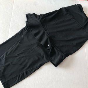 Ryka Black Skirt Leggings 3XL
